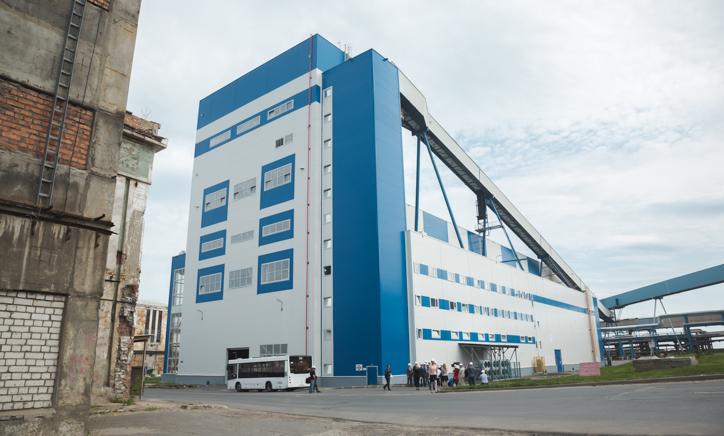 На Архангельском ЦБК введён в эксплуатацию современный цех производства полуцеллюлозы.