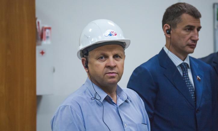 Депутат облсобрания от фракции «Единая Россия» Андрей Палкин и Александр Дятлов
